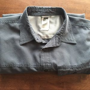 North Face Casual Button Down Shirt
